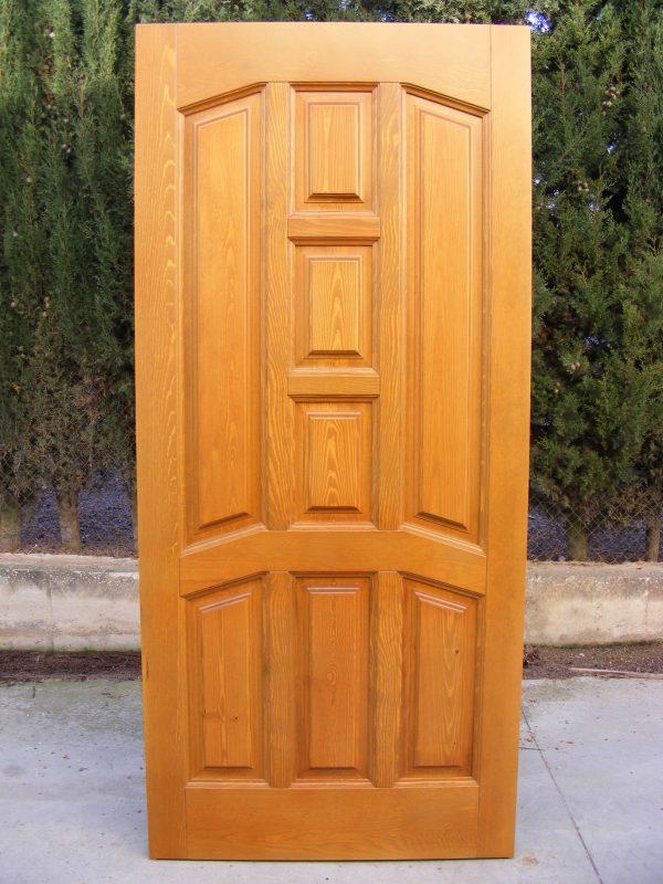 Como fabricar una puerta de madera madera cedro macizo - Como barnizar una puerta de madera ...